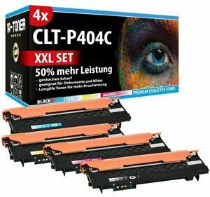 4 XXL TONER CLT P404C 50% MEHR FÜR SAMSUNG MFC XPRESS C480W C480FW C480FN SET