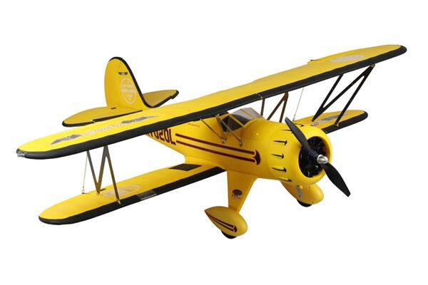 Dynam Waco F Series RTF Yellow Bi-Plane PnP no Tx Rx Bat Chg
