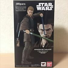 S.H. SH Figuarts Star Wars Anakin Skywalker WITH BONUS HEAD + LIGHTSABER NEW F/S