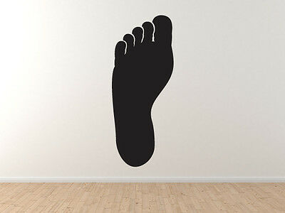 Footmark Track and Field Barefoot Animal Foot Print #4 Car Tablet Vinyl Decal