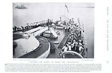 1896 Hms Magnificent Clearing Deck For Action Resolution Quick-firing Gun Drill