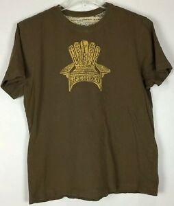 Mens-Life-Is-Good-Chair-T-Shirt-Large-Graphic-Tee-Short-Sleeve-Crew-Cotton