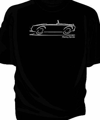 XXL Frogeye Austin Healey Mk1 Sprite 100/% cotton T-Shirt Med Bugeye