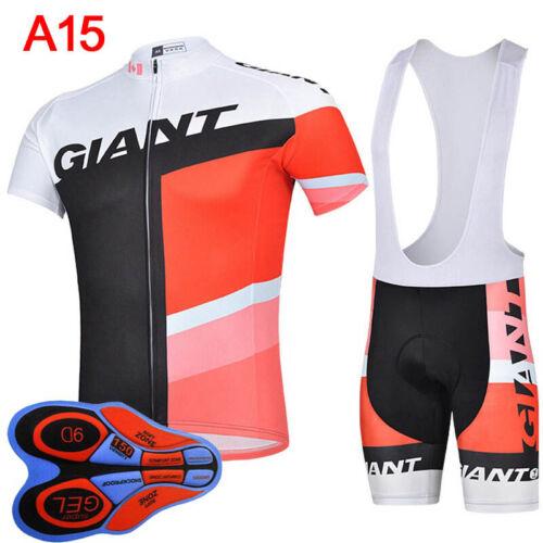 new Men cycling summer short sleeve bib shorts quick dry sports jersey sets S080