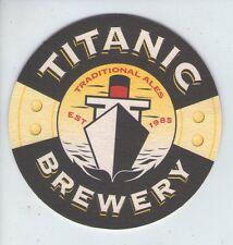 UNUSED BEERMAT - TITANIC BREWERY - TRADITIONAL ALES - (Cat 004) - (1998)