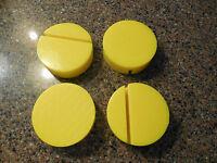 Mazda Miata Mx-5 Jack Pad Adapter Yellow Polyurethane 4 Each Mx-5