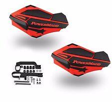 Powermadd Sentinel Handguards Guards Kit Red Snowmobile Snow Ski Doo Summit