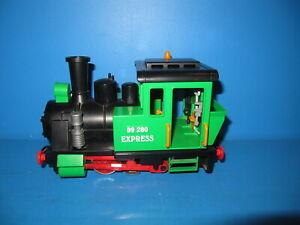 Playmobil-Spur-G-Dampf-Lok-99-280-Express-aus-4005-mit-LGB-MZS-Decoder-1332