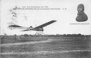 CPA-AVIATION-HAUVETTE-MICHELIN-SUR-MONOPLAN-ANTOINETTE