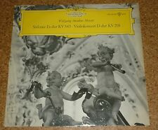 LP Vinyl Mozart Johanna Martzy Violin Concerto Jochum DGG Tulip LPX 29591