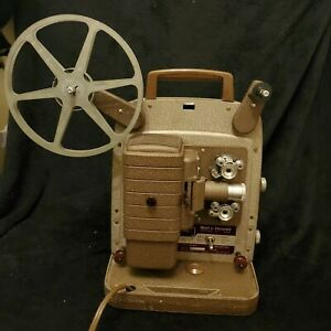 Bell-amp-Howell-Model-253-R-8MM-Movie-Film-Projector-WORKING-CONDITION-S4