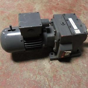 Flender 3 phase 277 480v 1 2hp gear motor for 480v 3 phase motor
