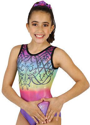 Jeweled Gymnastics or Dance Leotard by Snowflake Designs NEW