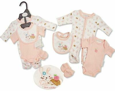 with Tags Tiny Premature Preemie Baby Girl Cupcake 4 Piece Layette Set