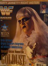 WWF Magazine Januar 1996 WWE Wrestling deutsch Goldust Marty Jannetty