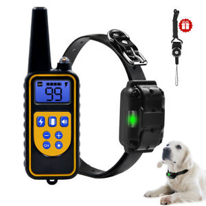 EU-dog-shock-collar-waterproof-remote-control-training-collar-electric-300m