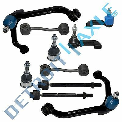 10PC Suspension Control Arm Ball Joint Sway Bar Kit Fits 2002-2004 Jeep Liberty