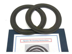 New 8 Quot Inch Woofer Speaker Foam Edge Repair Kit Ohm E G H