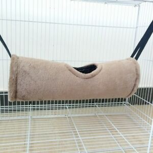 1x-Tunnel-Hammock-Pet-Ferret-Rat-Hamster-Parrot-Squirrel-Hanging-Bed-House-Nest