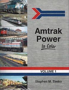 AMTRAK-Power-in-Color-Vol-1-original-Amtrak-1-499-NEW-BOOK