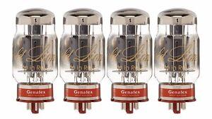 New-4x-Genalex-Gold-Lion-KT88-Matched-Quad-Quartet-Four-Tubes-Free-Ship