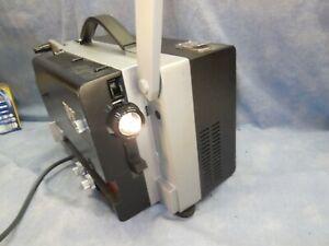 Bolex-SP8-Special-Super-8-Filmprojektor-Gereingt-Geolt