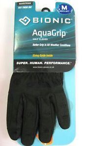 NEW-2018-Bionic-Aquagrip-Golf-Glove-Left-hand-for-RIGHT-Handed-Golfers-aqua-grip