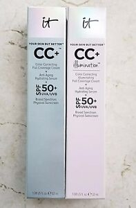 IT-COSMETICS-Your-Skin-But-Better-CC-Cream-Foundation-BNIB-FREE-SHIP-YOU-PICK