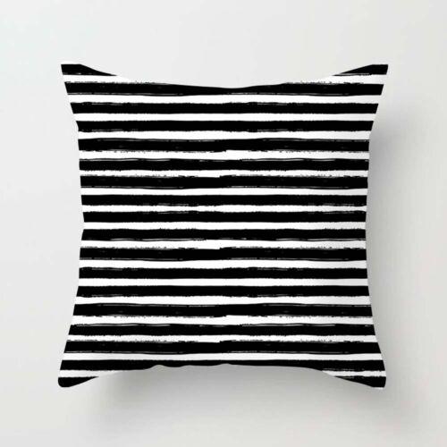 Linen Cotton Square Pillow Waist Pillow Cover Sofa Car Cushion Decor Home Case