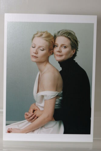 "ANNIE LEIBOVITZ /""GWYNETH PALTROW/""  Kunst-Postkarte"