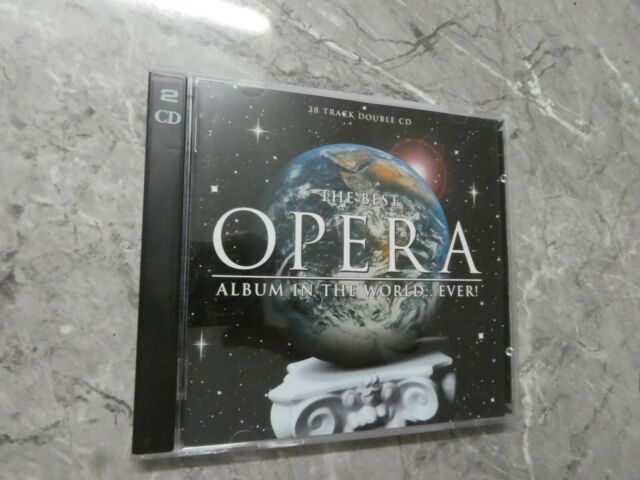 The Best Opera Album in the World...Ever (CD, Nov-2000, 2 Discs) CG3