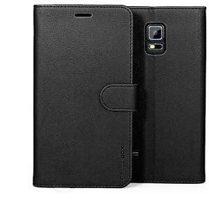 low priced f048e ae3b6 Details about for Samsung Galaxy Note 4 Case Premium Leather Card Slot  Wallet Flip Cover