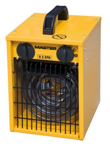 Elektrisches Heizgerät Master B 2 EPB Rumsauer Bauheizer 1-2 kW 230V Heizung