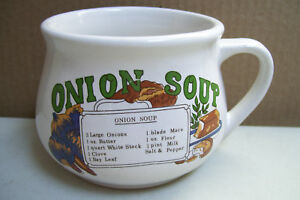 Onion-Soup-Recipe-Cereal-Mug-Oversized-Coffee-Tea-Hot-Beverage-Microwave-Cup