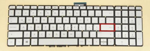 For HP ENVY X360 m6-aq000 15-aq000 Keyboard Latin Spanish Teclado backlit Silver