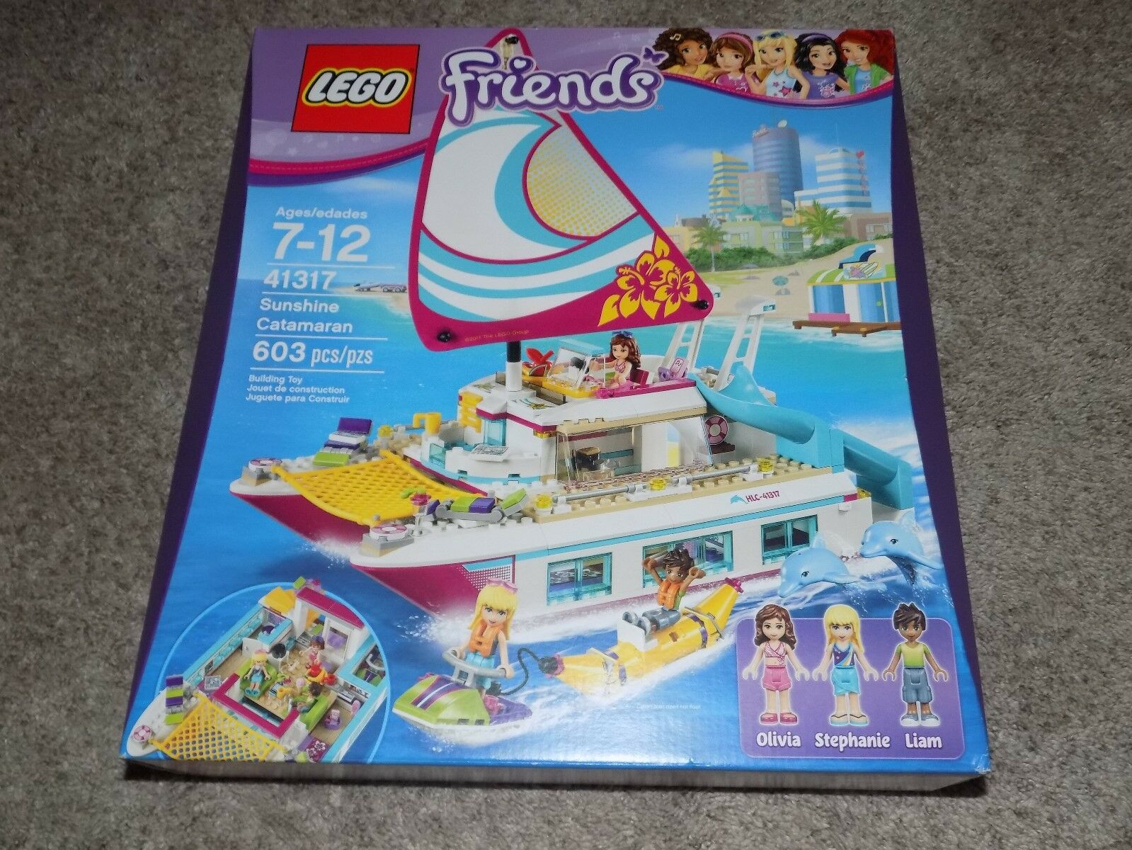 Lego 41317 Sunshine Catamaran 603pcs