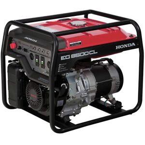 Honda EG6500CL - 5500 Watt Portable Generator | eBay