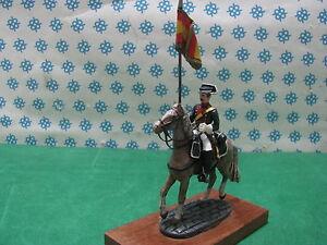 Vintage-Figura-a-Cavallo-Gendarme-Spagnolo-metal-toy-soldier-figure-set