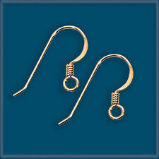50 14K Gold Filled Earring Finding Ear Wire Hook