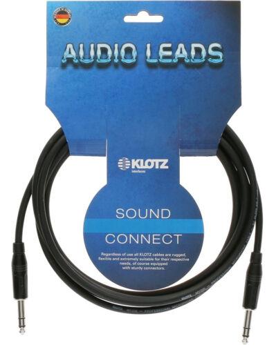 KLOTZ B4PP1A0500 Patchkabel Stereo Klm-Klm 5m
