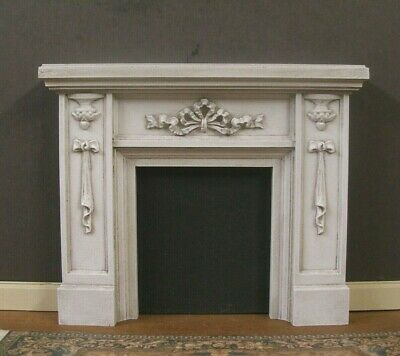 FIREPLACE  OVERMANTEL ~   1:12 scale ~ JIM COATES ~ Dollhouse  Mini ~ Room Box