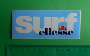 ADESIVO-STICKER-AUTOCOLLANT-SURF-ELLESSE-ANNI-039-80-VINTAGE-11-5x5cm-MOLTO-RARO