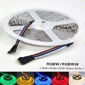 5m-LED-Streifen-12V-24V-RGB-RGBW-RGBWW-SMD-5050-IP65-Stripe-Dimmbar-Band-Leiste