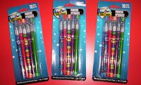 30pop Up Multi-point Pencils, No.2 Lead, Pre-sharpened Pencil Tips