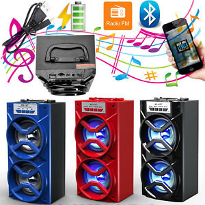 Inalambrico-Bluetooth-portatil-de-altavoces-estereo-duales-al-aire-libre-USB-TF-AUX-Lote-De-Radio-Fm