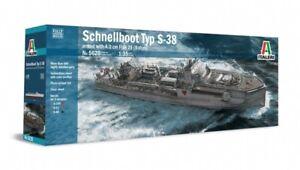 Italeri 1/35 Schnellboot S-38 Plastic Kit 5620