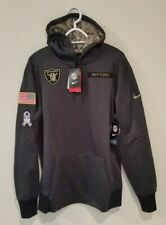 new arrival 80937 20532 Nike 2018 NFL Salute to Service Oakland Raiders Pullover ...
