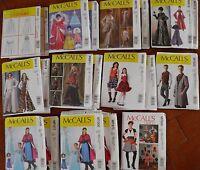 All Mccall's Costume Pattern Adult Kids Princessqueensteampunk Skirt