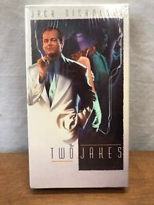 THE-TWO-JAKES-VHS-JACK-NICHOLSON-NEW-SEALED