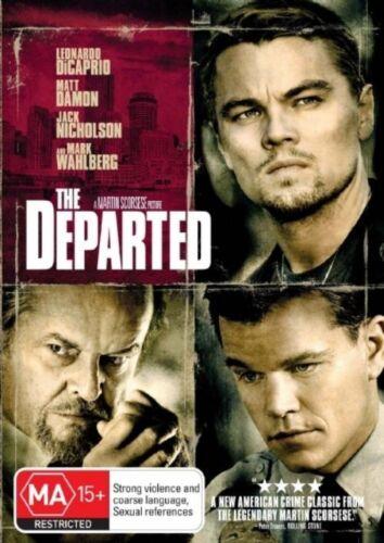 1 of 1 - THE DEPARTED..LEONARDO DiCAPRIO..MATT DAMON..REG 4..NEW & SEALED  dvd224